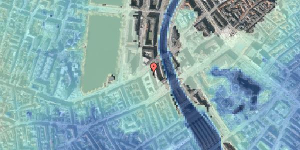 Stomflod og havvand på Meldahlsgade 5, 2. , 1613 København V