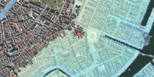 Stomflod og havvand på Ny Østergade 4, 2. , 1101 København K