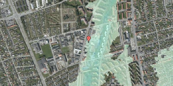 Stomflod og havvand på Arnold Nielsens Boulevard 69, 2650 Hvidovre
