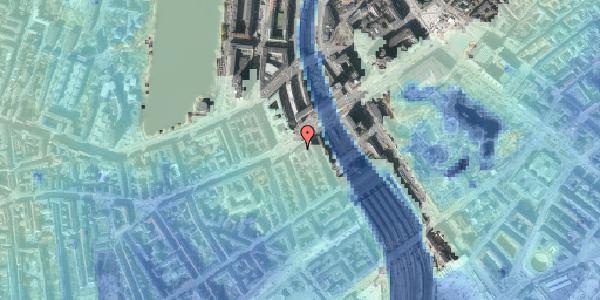Stomflod og havvand på Vesterbrogade 9B, 1. , 1620 København V