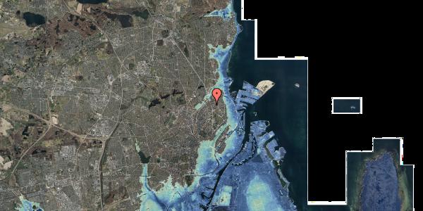 Stomflod og havvand på Lyngbyvej 34, 2. , 2100 København Ø