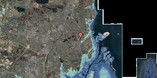 Stomflod og havvand på Peter Rørdams Vej 2F, 2400 København NV