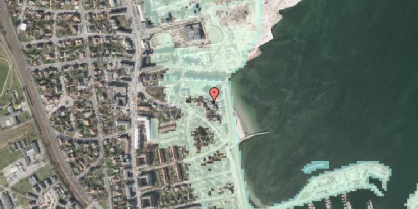 Stomflod og havvand på Strandpromenaden 65, 1. tv, 2100 København Ø