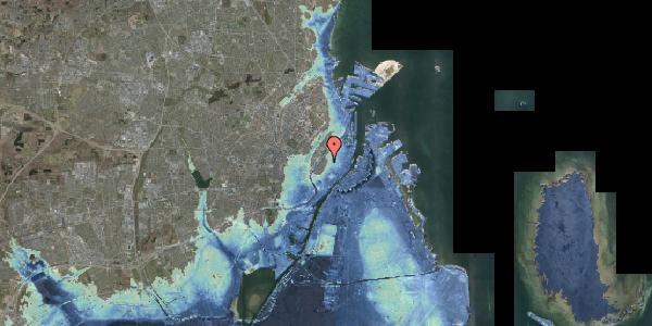 Stomflod og havvand på Købmagergade 60, 2. tv, 1150 København K