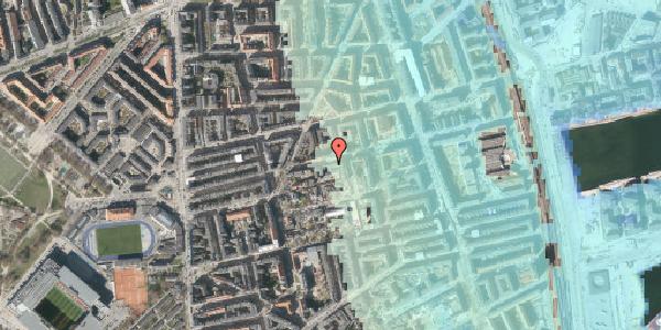 Stomflod og havvand på Viborggade 70A, 2100 København Ø