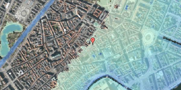 Stomflod og havvand på Valkendorfsgade 2B, kl. , 1151 København K