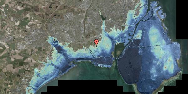 Stomflod og havvand på Alarmpladsen 6A, 2650 Hvidovre