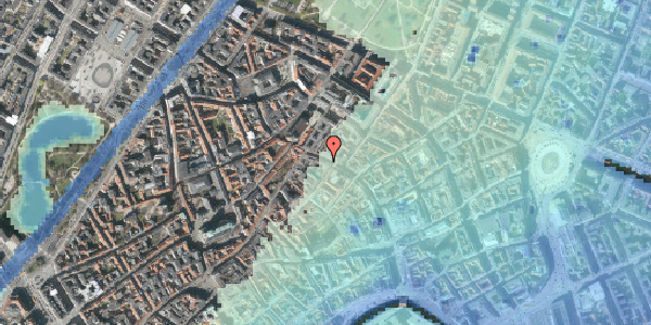 Stomflod og havvand på Købmagergade 41, st. , 1150 København K