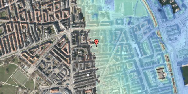 Stomflod og havvand på Vordingborggade 20, 4. , 2100 København Ø