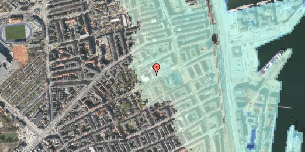 Stomflod og havvand på Rosenvængets Hovedvej 37, 2100 København Ø