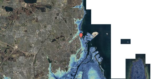 Stomflod og havvand på Nygårdsvej 16B, st. , 2100 København Ø