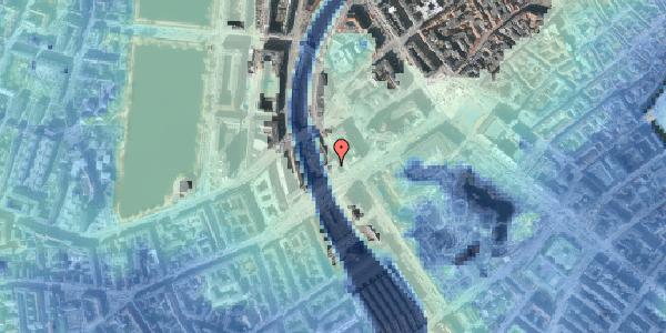 Stomflod og havvand på Hammerichsgade 1, 18. , 1611 København V