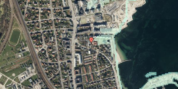 Stomflod og havvand på Strandøre 5C, 2100 København Ø