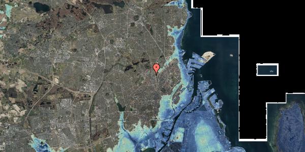 Stomflod og havvand på Frederiksborgvej 36, 2400 København NV