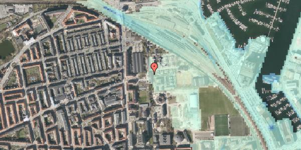 Stomflod og havvand på Carl Nielsens Allé 9D, 2100 København Ø