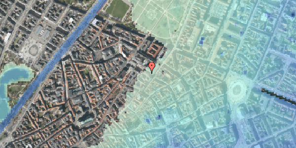 Stomflod og havvand på Pilestræde 53, 4. , 1112 København K