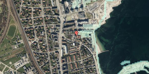 Stomflod og havvand på Strandøre 5B, 2100 København Ø