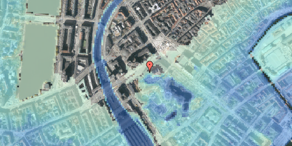 Stomflod og havvand på Vesterbrogade 1L, 5. th, 1620 København V