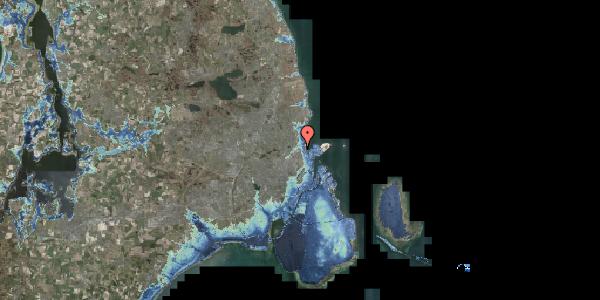 Stomflod og havvand på Svanemøllens Kaserne 5, 2. 204, 2100 København Ø