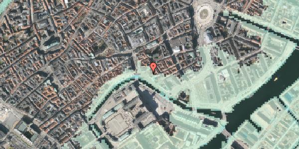 Stomflod og havvand på Ved Stranden 18, 1061 København K