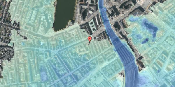 Stomflod og havvand på Vesterbrogade 15A, 1620 København V