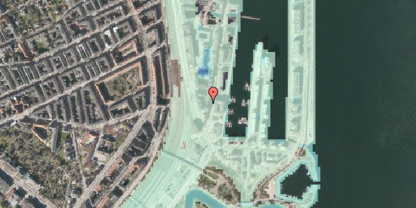 Stomflod og havvand på Dampfærgevej 7, 2100 København Ø