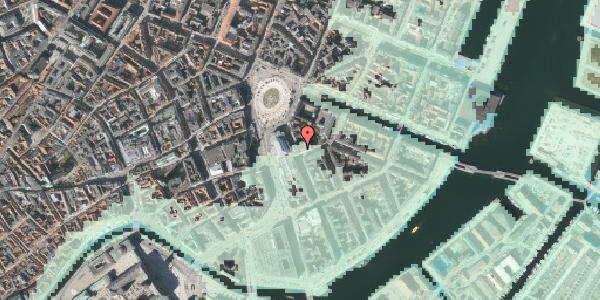 Stomflod og havvand på August Bournonvilles Passage 5, 1. , 1055 København K