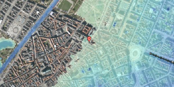 Stomflod og havvand på Møntergade 3, 1116 København K