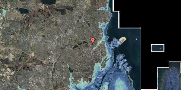 Stomflod og havvand på Peter Rørdams Vej 6, 2. mf, 2400 København NV