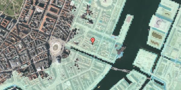 Stomflod og havvand på Nyhavn 31M, st. , 1051 København K