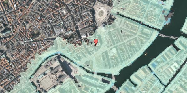 Stomflod og havvand på Laksegade 11, 2. , 1063 København K