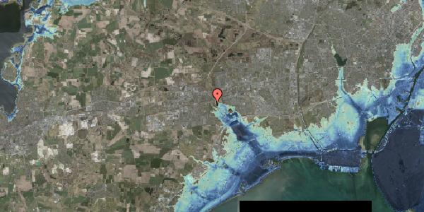 Stomflod og havvand på Kongsgården 44, 2630 Taastrup