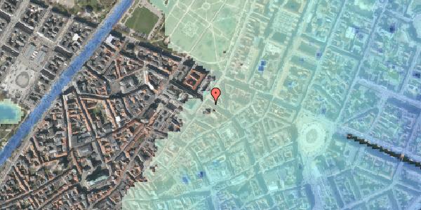 Stomflod og havvand på Gammel Mønt 39, 1117 København K