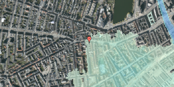 Stomflod og havvand på Vesterbrogade 67, 2. tv, 1620 København V