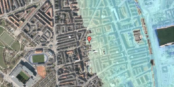 Stomflod og havvand på Viborggade 50, 1. tv, 2100 København Ø