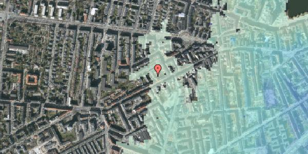 Stomflod og havvand på Vesterbrogade 116, st. , 1620 København V