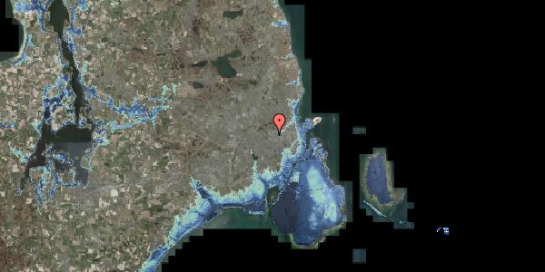 Stomflod og havvand på Gråspurvevej 17B, 2400 København NV