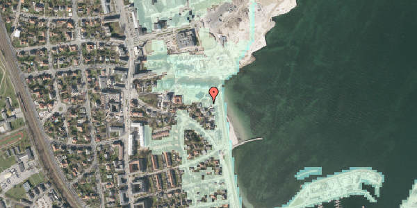 Stomflod og havvand på Strandpromenaden 67, 5. , 2100 København Ø
