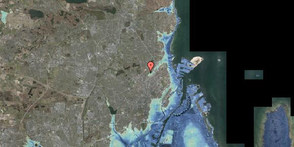 Stomflod og havvand på Bispebjerg Bakke 13, 2400 København NV