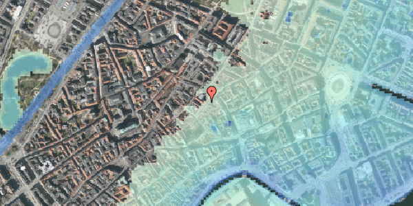 Stomflod og havvand på Valkendorfsgade 2B, 1. , 1151 København K
