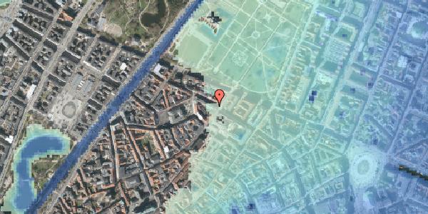 Stomflod og havvand på Åbenrå 1, 1124 København K