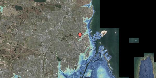 Stomflod og havvand på Bispebjerg Bakke 23, 5. , 2400 København NV