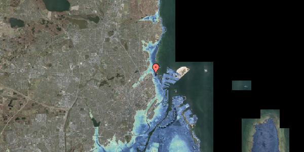 Stomflod og havvand på Ryvangs Allé 4E, 2100 København Ø