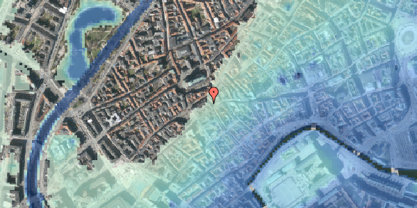 Stomflod og havvand på Skoubogade 3, 2. , 1158 København K