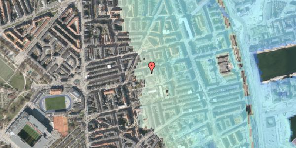 Stomflod og havvand på Viborggade 70D, 1. , 2100 København Ø