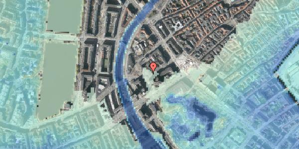 Stomflod og havvand på Jernbanegade 8, 1608 København V