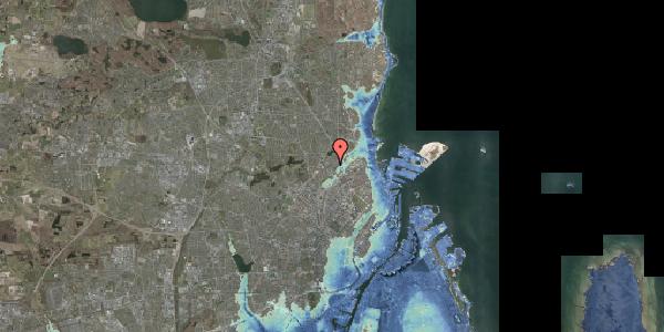 Stomflod og havvand på Keldsøvej 15, 2100 København Ø