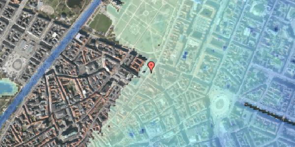 Stomflod og havvand på Møntergade 19, st. th, 1116 København K