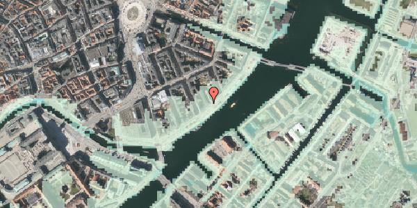 Stomflod og havvand på Havnegade 37A, 1058 København K