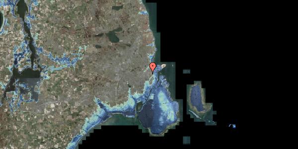 Stomflod og havvand på Edel Sauntes Allé 13, 2100 København Ø